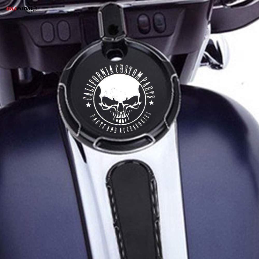GUAIMI Dash Insert Dash Accessories for Harley Davidson Touring Electra Street Glide FLHX FLTR FLHT 2008-2018