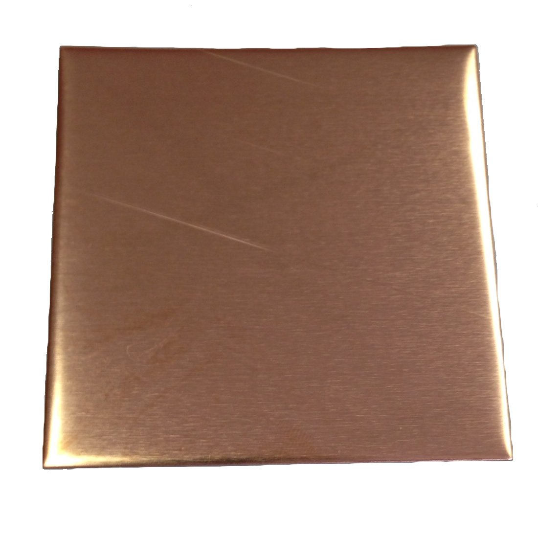 RMP Stamping Blanks, 3, Square, 16 Oz. Copper, 24 Ga. - 3 Pack 3 Rose Metal Products L440070-SQ-3000