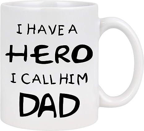 hero dad mug