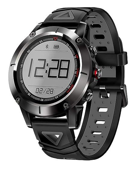 G01 GPS Reloj Inteligente Hombres IP68 A Prueba De Agua Presión Bluetooth Reloj Bluetooth Deportes Brújula