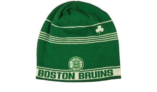 018157005 Boston Bruins Cuffless Knit Skully Reebok Hat - Osfa - KG31Z: Amazon.ca:  Sports & Outdoors