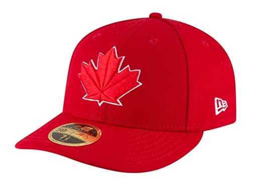 889d708d9 New Era 59Fifty Hat MLB Toronto Blue Jays Low Profile Alternate Red Baseball  Cap (6
