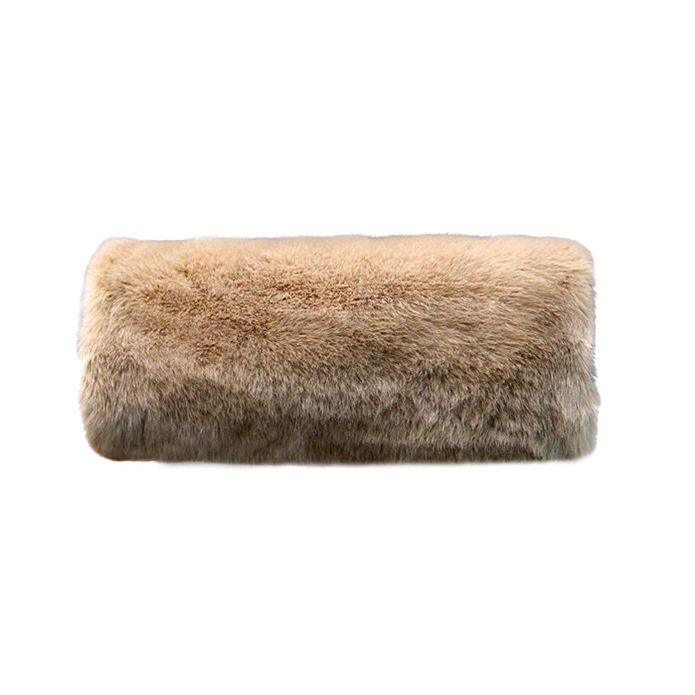 SwirlColor Soft Faux Fur Hand Muffs for Women