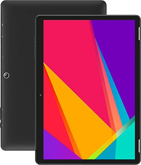 Google Certified 32GB Storage Android 9.0 4G//5G Tablets PC with Dual Sim Card Slots and Camera Bluetooth Wi-Fi Quad-Core Processor GPS,Purple Tablet 10 Inch
