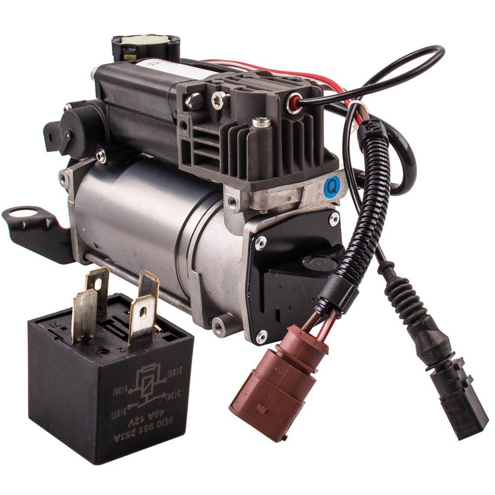 maXpeedingrods Compresor de Bomba de Aire de Suspensión Neumática 4F0616006A 4F0616005E para A6 C6: Amazon.es: Coche y moto