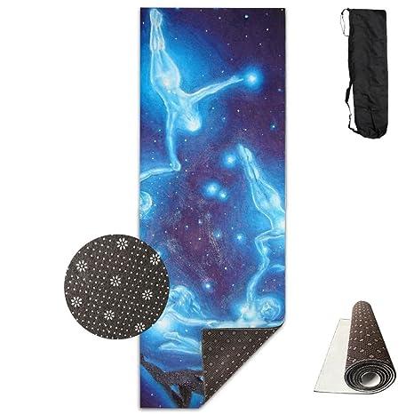 Amazon.com: GONGYPND Cosmic Body Constellation Yoga Mat ...