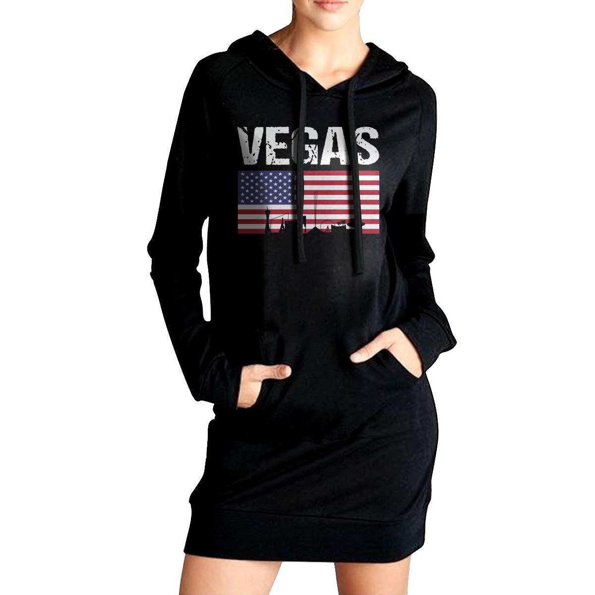 Womens Long Hoodie Vegas Womens Long Sleeve Outerwear