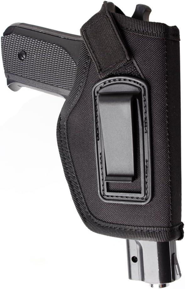 IWB Holster - Cartuchera para interior de la cintura, oculta - para pistola M&P Shield de 9 mm, GLOCK 19 43 17 26 23 27 P320 Ruger LC9, LC380 y pistolas de tamaño similar