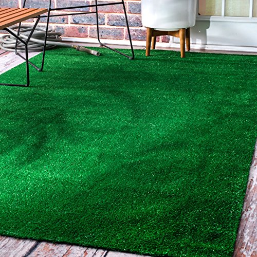 Gentil Artificial Grass Outdoor Lawn Turf Patio Rug