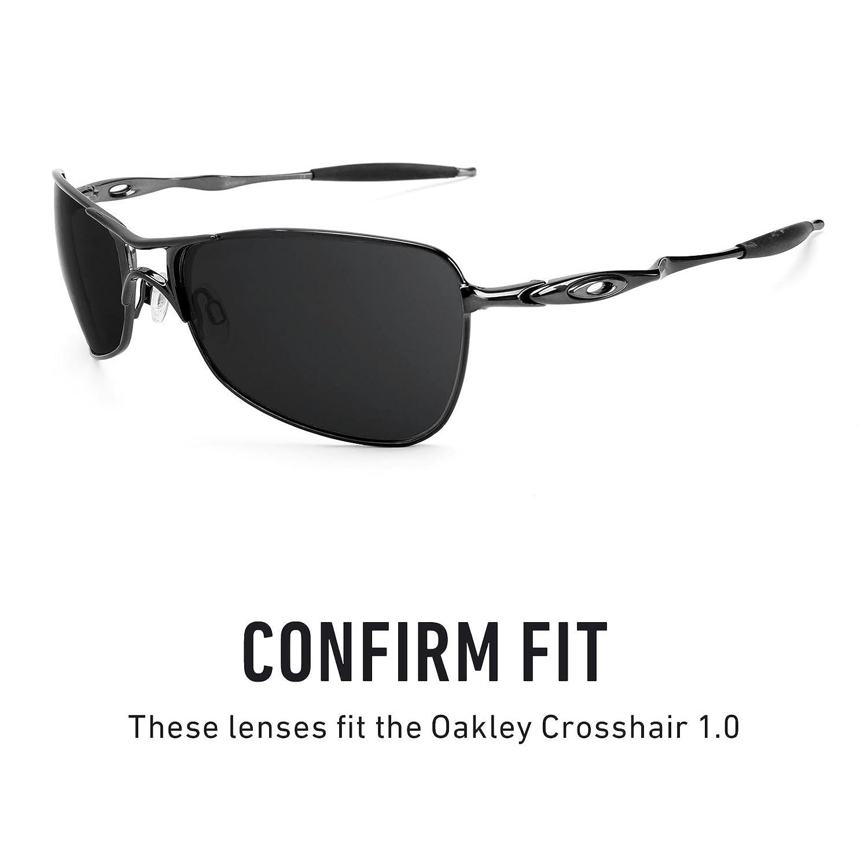 23fd61e86ab24 Revant Replacement Lenses for Oakley Crosshair 1.0 Elite Adapt Grey  Photochromic  Amazon.co.uk  Clothing