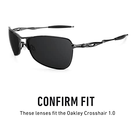 bf700b4e1f9 Revant Replacement Lenses for Oakley Crosshair 1.0 Elite Adapt Grey  Photochromic  Amazon.co.uk  Clothing