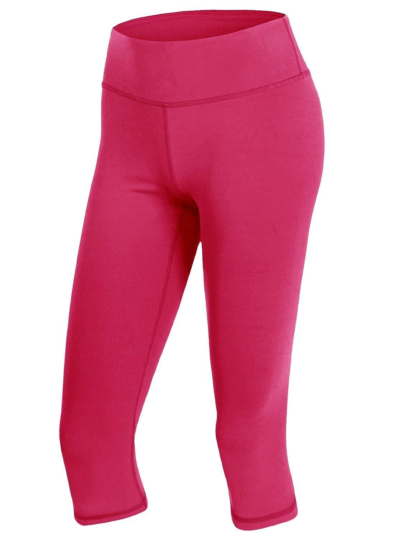a8dc92e78c #DCWBMP043 / #CWBMP05 - Active High Waist Tummy Control Workout Capri Yoga  Pants With Plus Size #DCWBMP043 - Features High Waist, Flatlock Stitching  ...