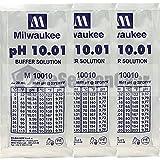 Milwaukee 3x 20ml pH 10 Buffer Calibration Solution