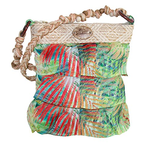cappelli-womens-tiered-ruffle-crossbody-lime