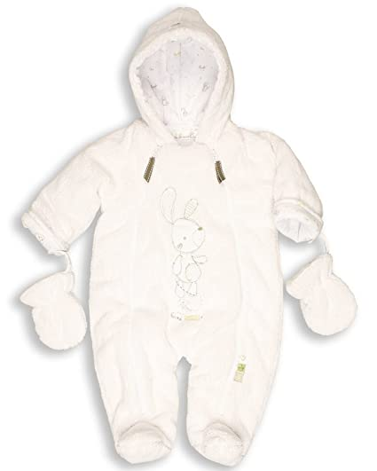d5df40c58 Buy The Essential One Baby Fur Snowsuit Pram 3-6 months White Online at Low  Prices in India - Amazon.in