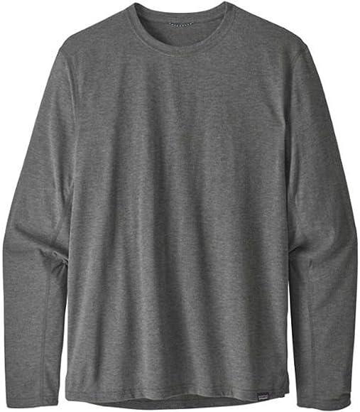 Patagonia Ms L/S Cap Cool Trail Shirt Camisa, Hombre, Black, XL: Amazon.es: Ropa y accesorios