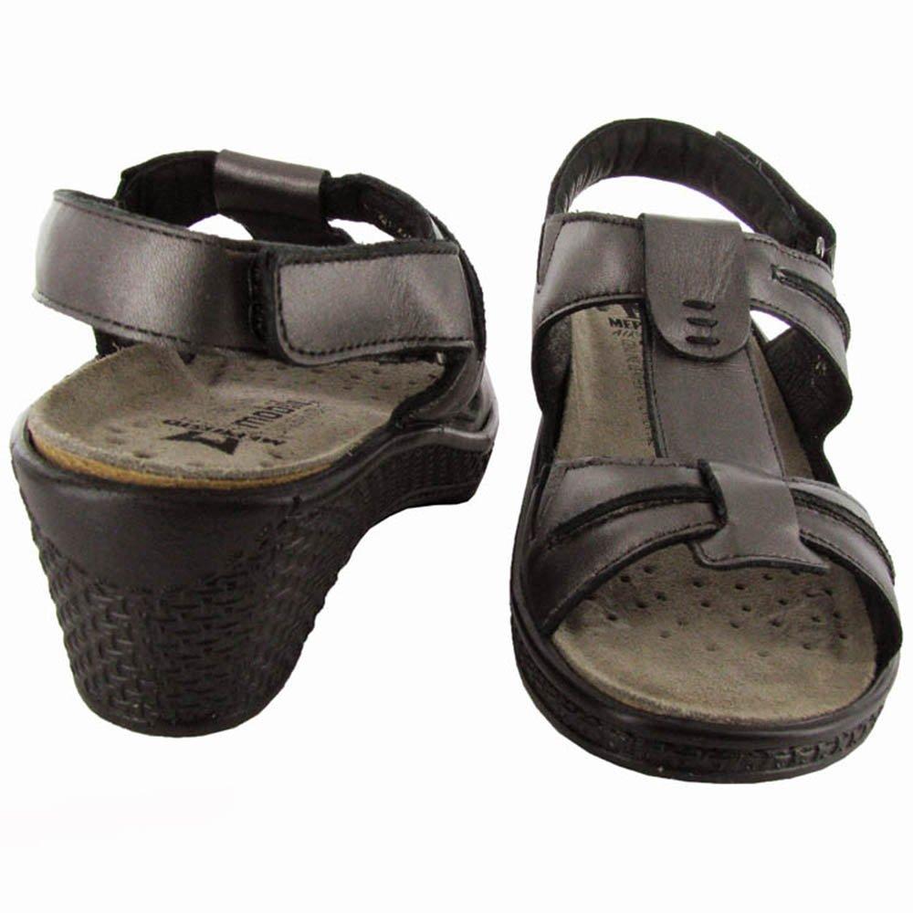 Mephisto Mobils Womens 'Porfilia' Sandal Shoe B005R1539U 7 B(M) US|Grey