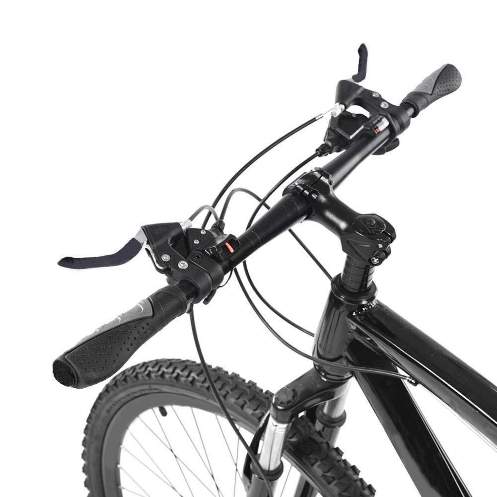 Fahrrad Griff MTB Lenkergriffe Rutschfeste Gummi Ergonomische Handgriffe mit Bremshebel Abdeckung f/ür Mountainbike Rennrad Faltrad Kohmui Fahrradgriffe