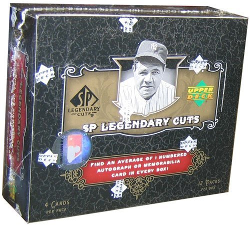 2007 Upper Deck SP Legendary Cuts Baseball Card Unopened Hobby Box -