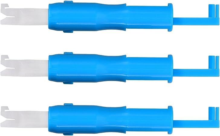 DDOQ Creativo 3 piezas de aguja de coser insertador automático ...