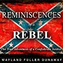 Reminiscences of a Rebel: The True Adventures of a Confederate Soldier Audiobook by Wayland Fuller Dunaway Narrated by Andrew Mulcare