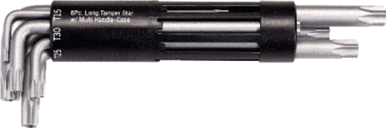 KS TOOLS 151.2200 Jeu de 8 cl/és m/âles TORX perc/é longue T10 /à T50