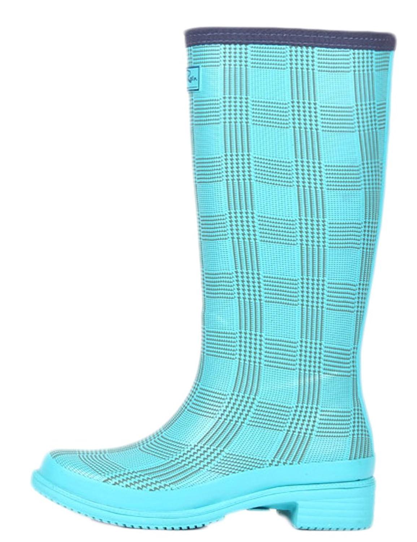 Ace Women's Girls Cute Waterproof Anti-skid Pull-on Work Boots Rain Boot
