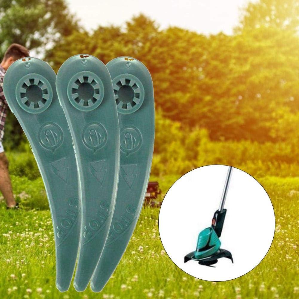heling896 Para Cuchillas Durablade Reforzadas De Repuesto Bosch para Art 23-18 LI Art 26-18Li Cortadoras De C/ésped Paquete De 25 Piezas