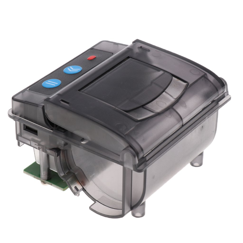 Baosity 58mm Micro Bill Embedded Thermal Printer RS232/TTL USB Interface Black
