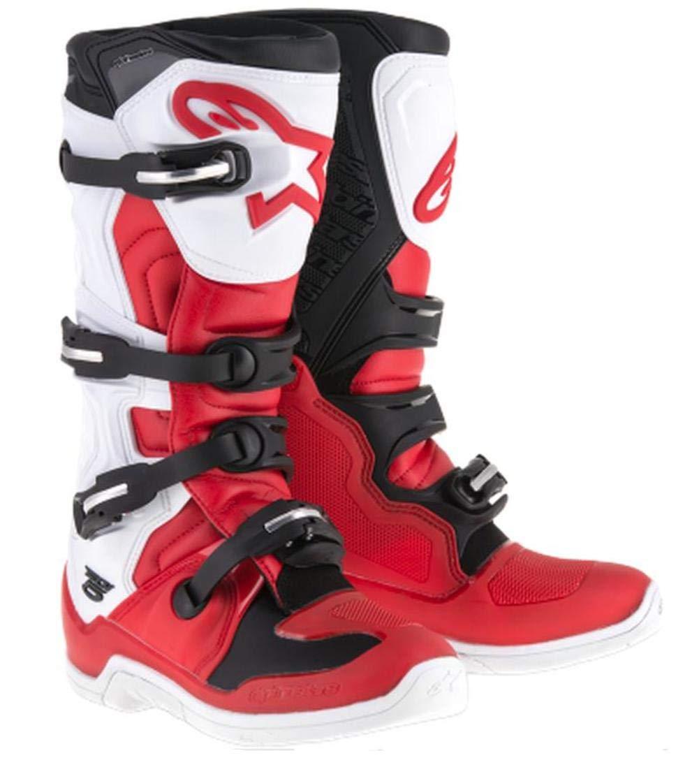 RED//WHITE//BLACK Alpinestars Tech-5 Boots 12