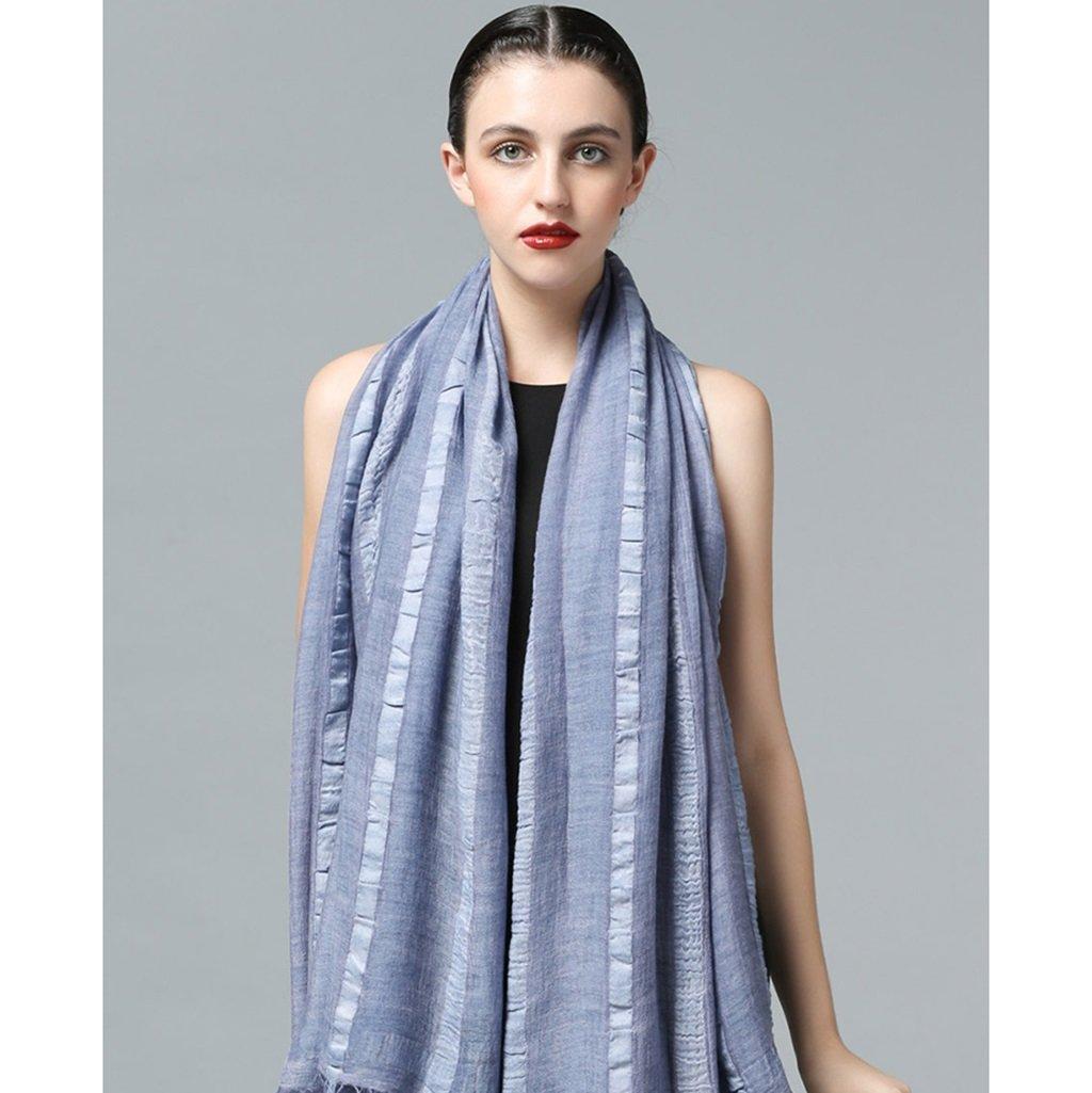 Bufandas lana regalos de Navidad enviar novias moda algodón mujer sección larga primavera e invierno...