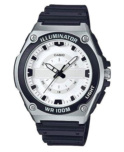 Casio Reloj Analógico para Hombre de Cuarzo con Correa en Resina MWC-100H-7AVEF: Amazon.es: Relojes