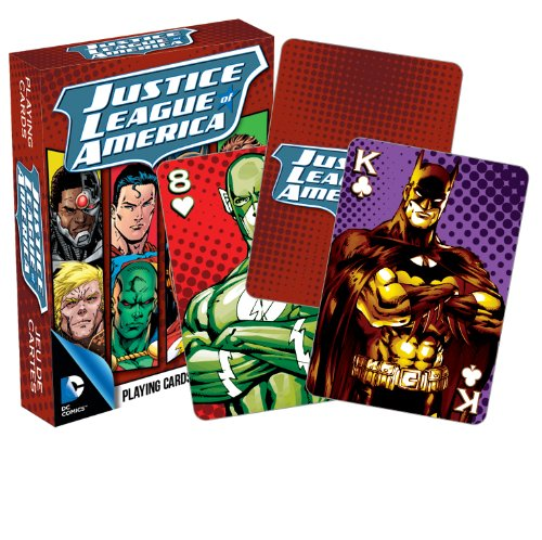 Aquarius DC Comics Justice League of America Playing Cards ()