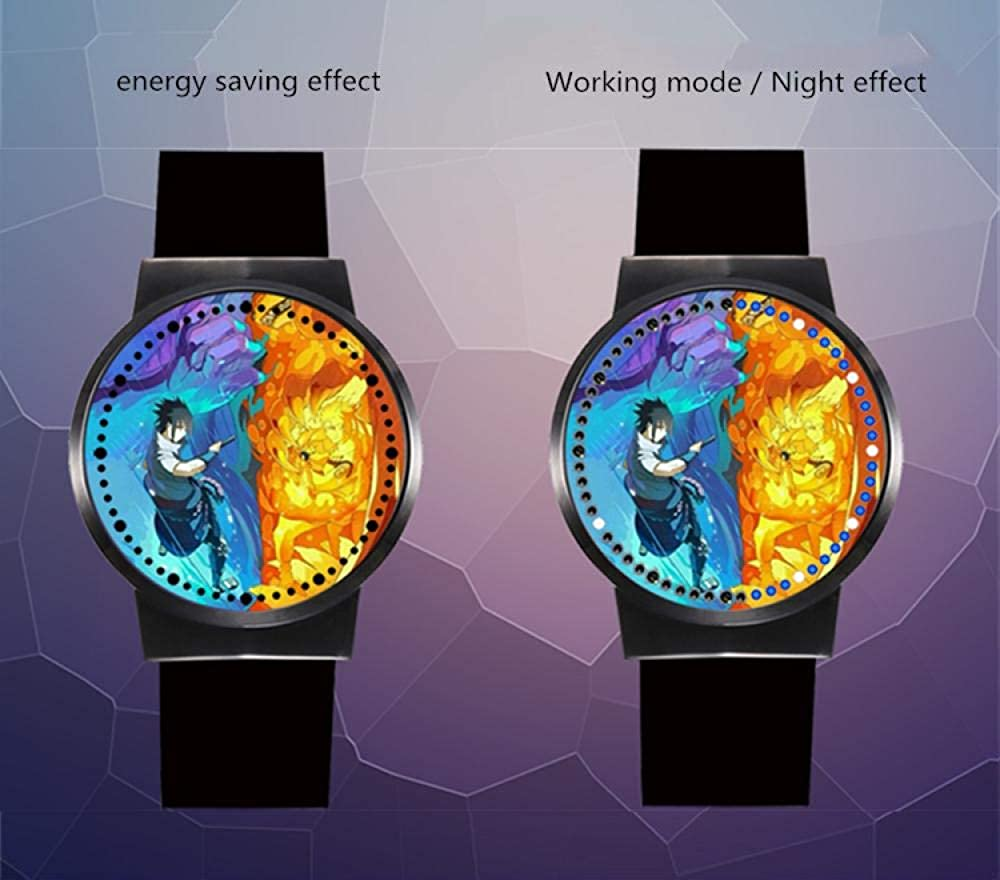 Sonic The Hedgehog Serie Kind Modetrend Student Uhr Junge Mädchen Neutral Quarz LED wasserdichte Uhr Geschenk Armband Armband A2