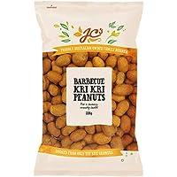 J.C.'S QUALITY FOODS BBQ Kri Kri Peanuts, 330 g, Barbeque