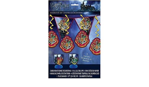 Harry Potter 7-Piece Decoration Kit