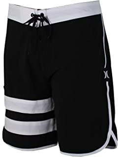 info for d932d d9642 New Hurley Men s Phantom Block Party Solid 2.0 Boardshort Fitted Spandex  Grey
