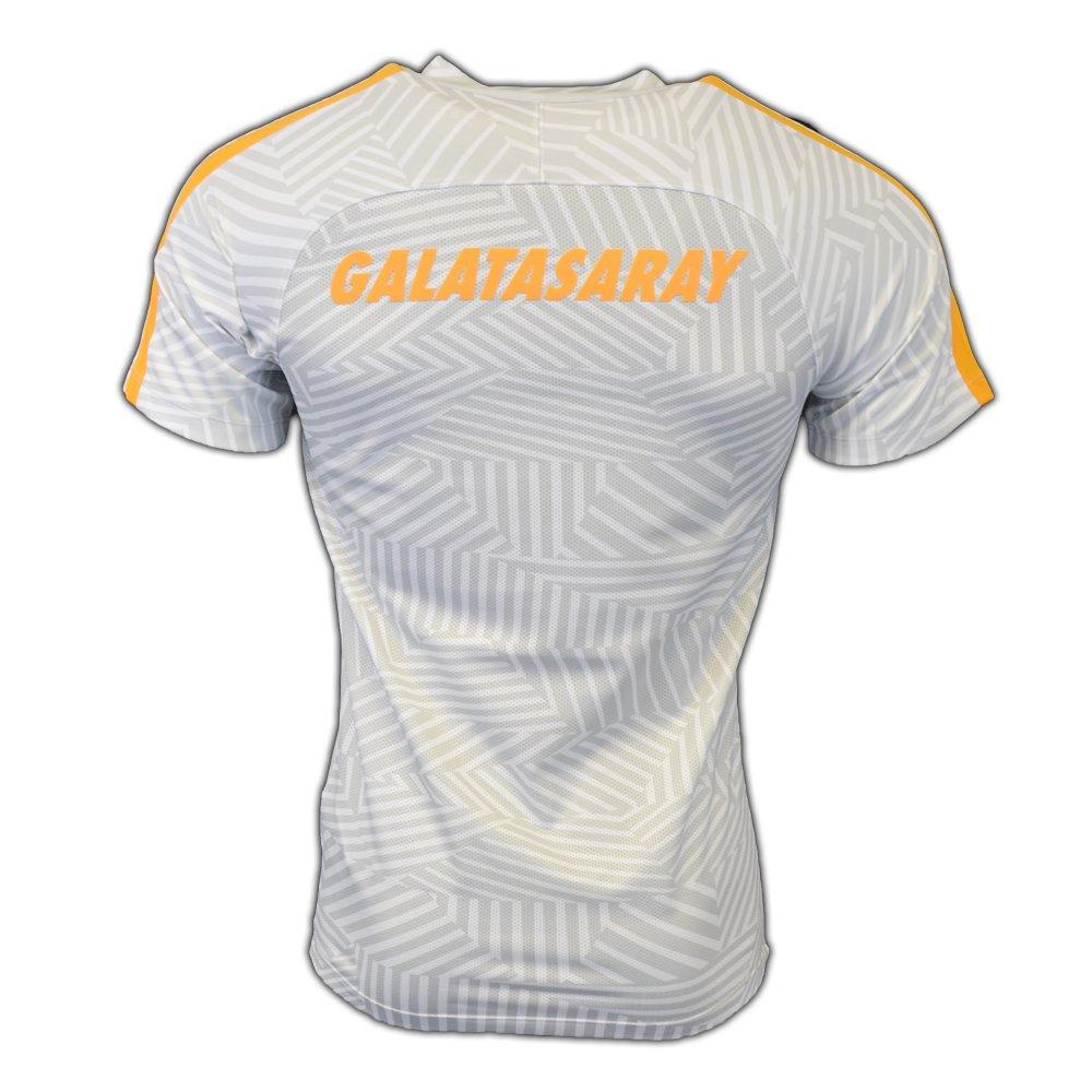 Nike GS M NK Dry Top SS SQD GX - Camiseta de Manga Corta Galatasaray SK para Hombre, Color Blanco, Talla L: Amazon.es: Deportes y aire libre