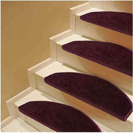 Alfombras de Escalera Alfombrillas para Peldaños De Escalera Peldaños Escaleras Alfombras Tapetes Cojines Polipropileno De 12 Mm De 4 Colores 24x65cm (Color : B, Size : 1PCS 24X65CM): Amazon.es: Hogar