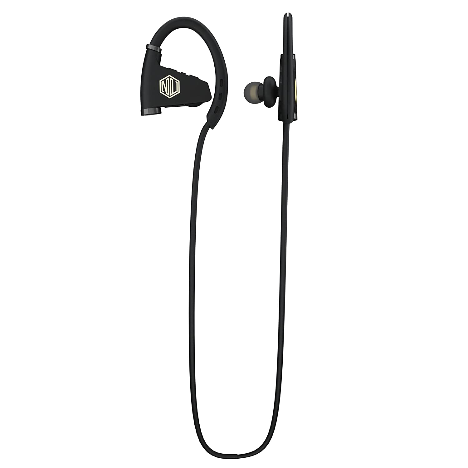 Nu Republic Nu Powr Wireless Earphones with Mic (Black) In-Ear Headphones at amazon