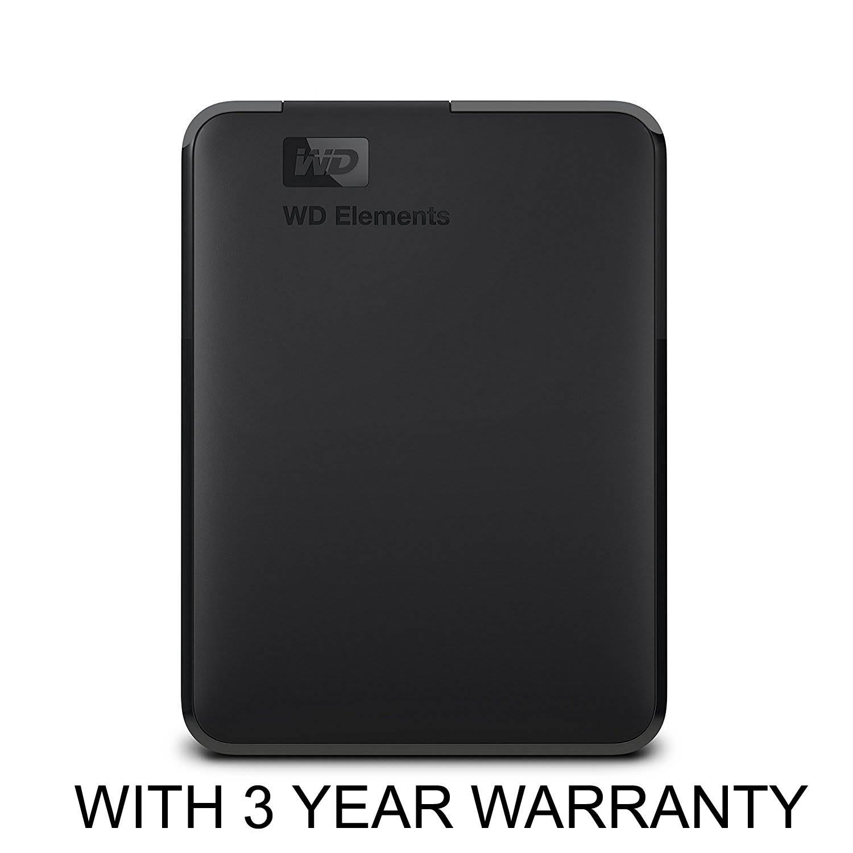 WD Elements 4TB Portable External Hard Drive (Black)