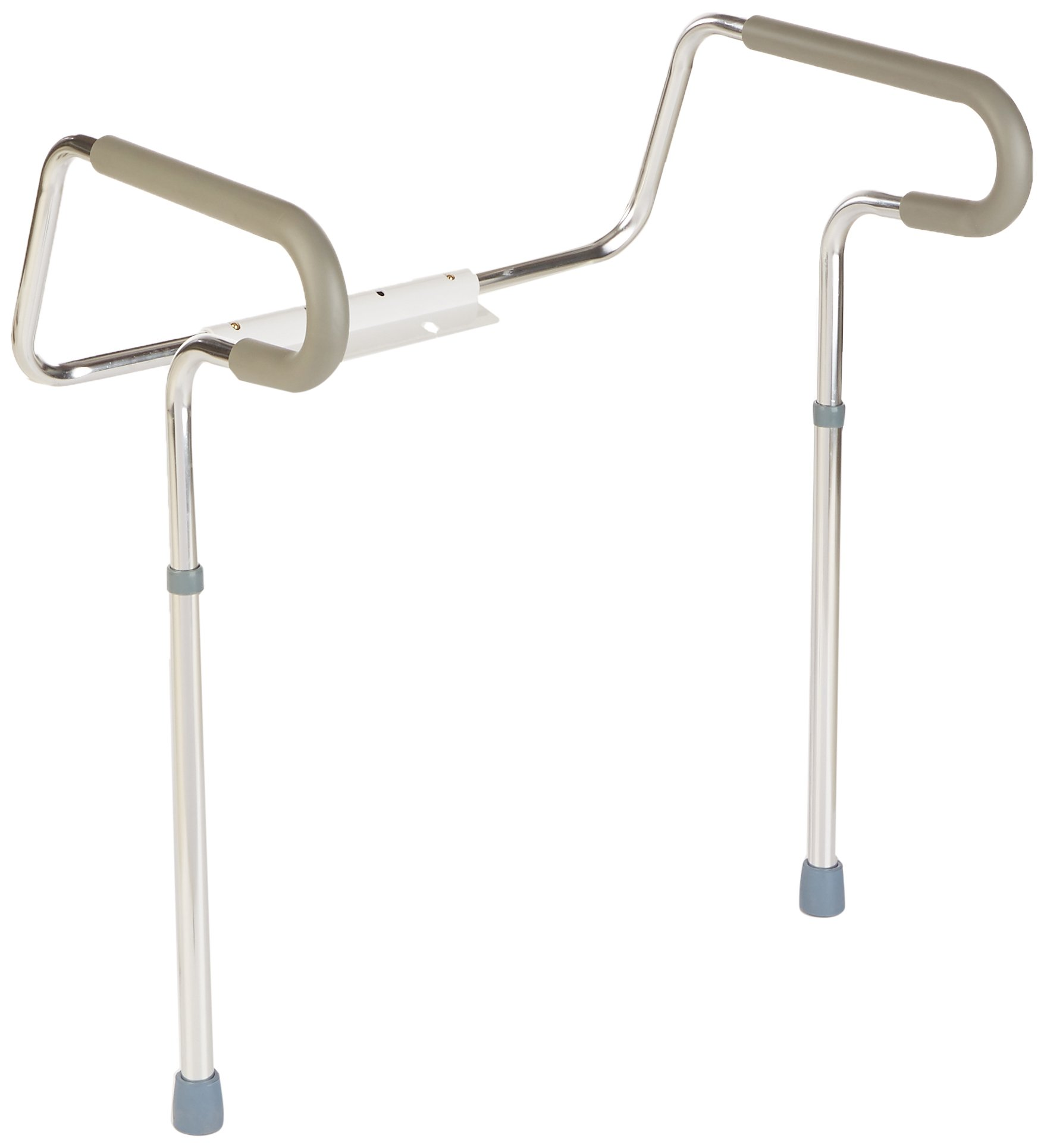 Sammons Preston Toilet Safety Frame, Toilet Handles for Elderly, Adjustable Commode Rails for Fall Prevention, Limited Mobility, Disabled, Injury, Surgery Recovery, 300 lbs Weight Capacity by Sammons Preston