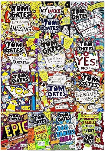 Tom Gates 13 Books Collection Set by Liz Pichon (Book 1-13)