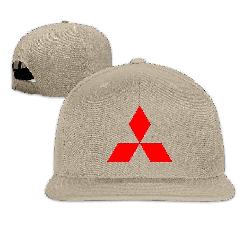 Hittings Mitsubishi S/ímbolo Snapback Gorra de b/éisbol Hats Natural