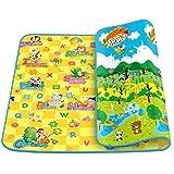 Glive's Water Resistant Kids & Baby Playing Crawl Floor Mat (Random Colour & Design ) (Large ( 120 x 180 cm ))