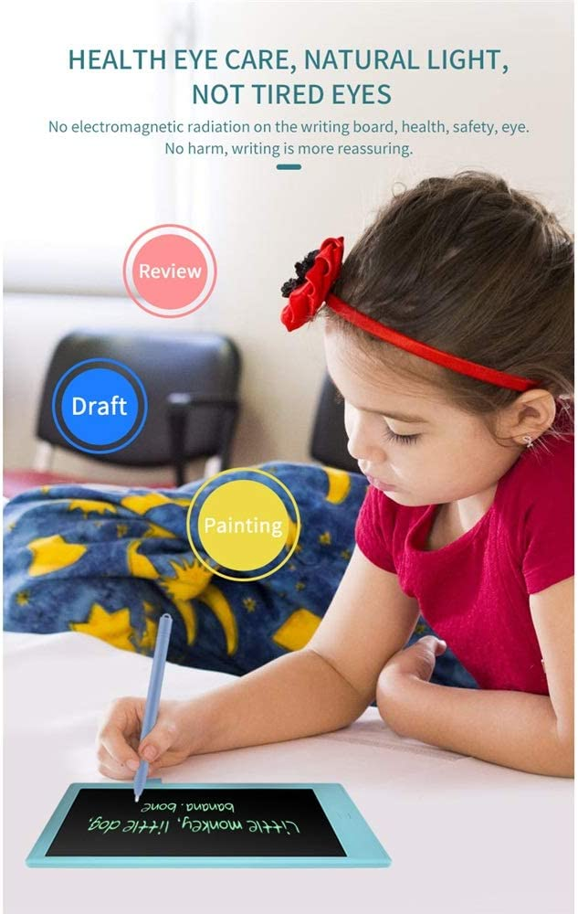 Color : Pink, Size : 10 inches JIANGXIUQIN LCD Board 10 Inch LCD Portable Tablet Electronic Blackboard Children Intelligent Graffiti Painting Board Christmas Thanksgiving Gift