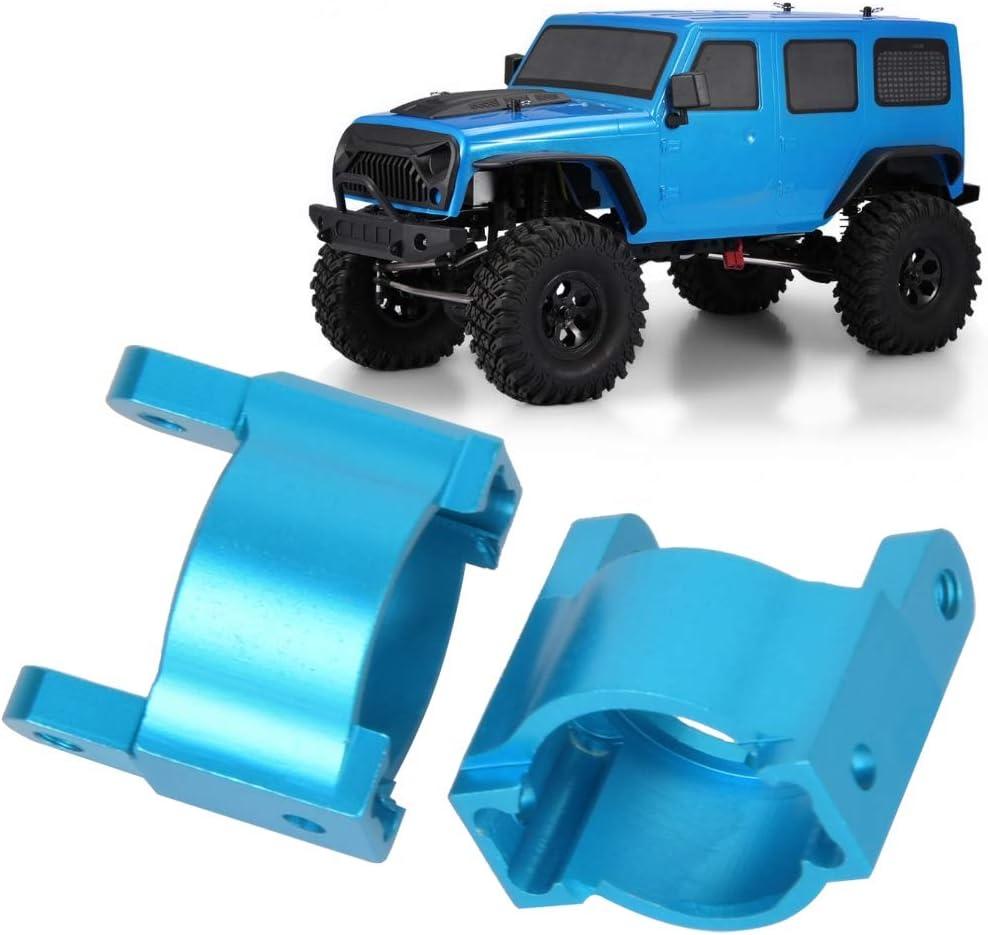 Azul VGEBY RC Hub Carrier aleaci/ón de Aluminio 1:10 Escala Control Remoto Crawler Car Hub Carrier L//R Modelo RC Coche Pieza de actualizaci/ón Accesorio Apto para RGT 136100 1//10 RC Toy Car