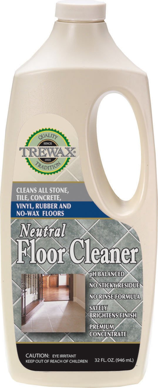Trewax Vinyl And Linoleum Neutral Floor Cleaner, 32 Ounce