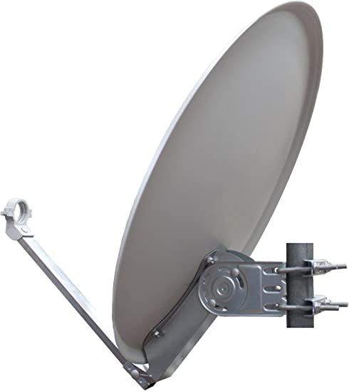 Opticum Stahl QA60 - Antena parabólica con LNB, 60 cm de Color Verde Claro