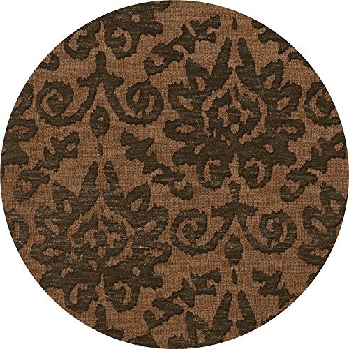 Dalyn Rugs Bella BL10LT10RO Area Rugs, 10' Round, Leather